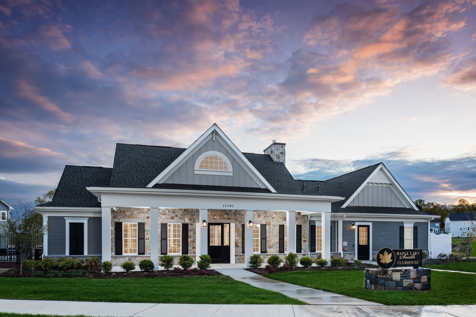 'Maple Lawn South' by NVHomes-MDE in Baltimore
