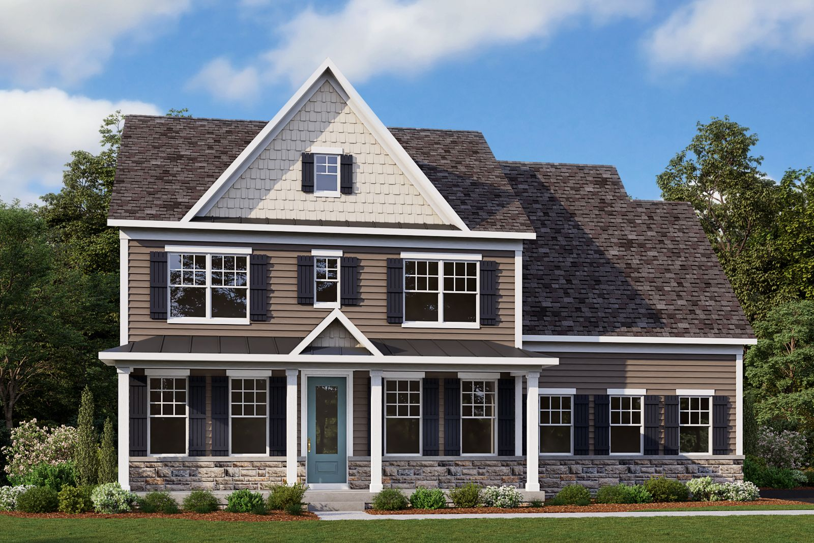 Exterior featured in the Liberty By NVHomes in Philadelphia, PA