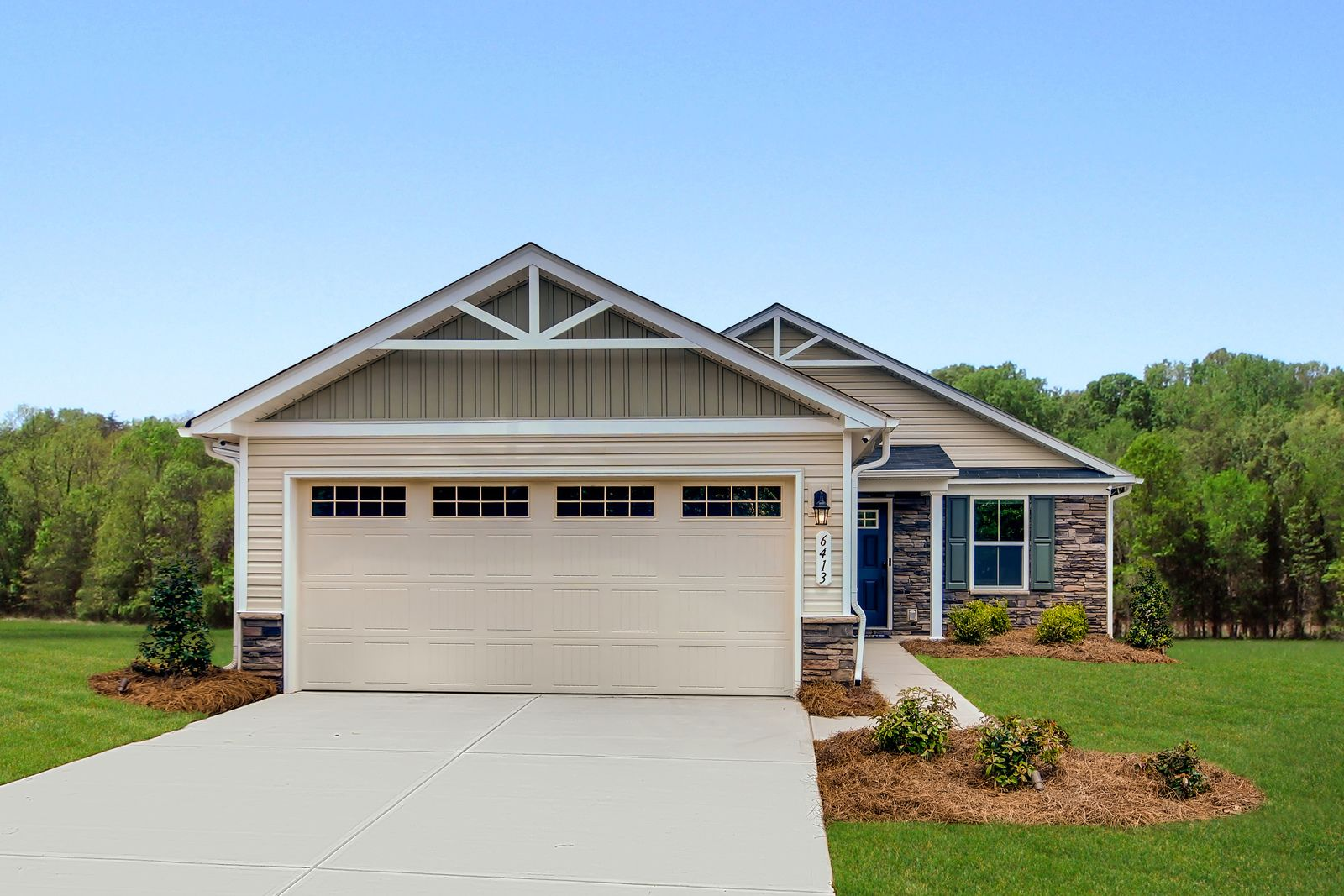 Exterior featured in the Aruba Bay By Ryan Homes in Akron, OH