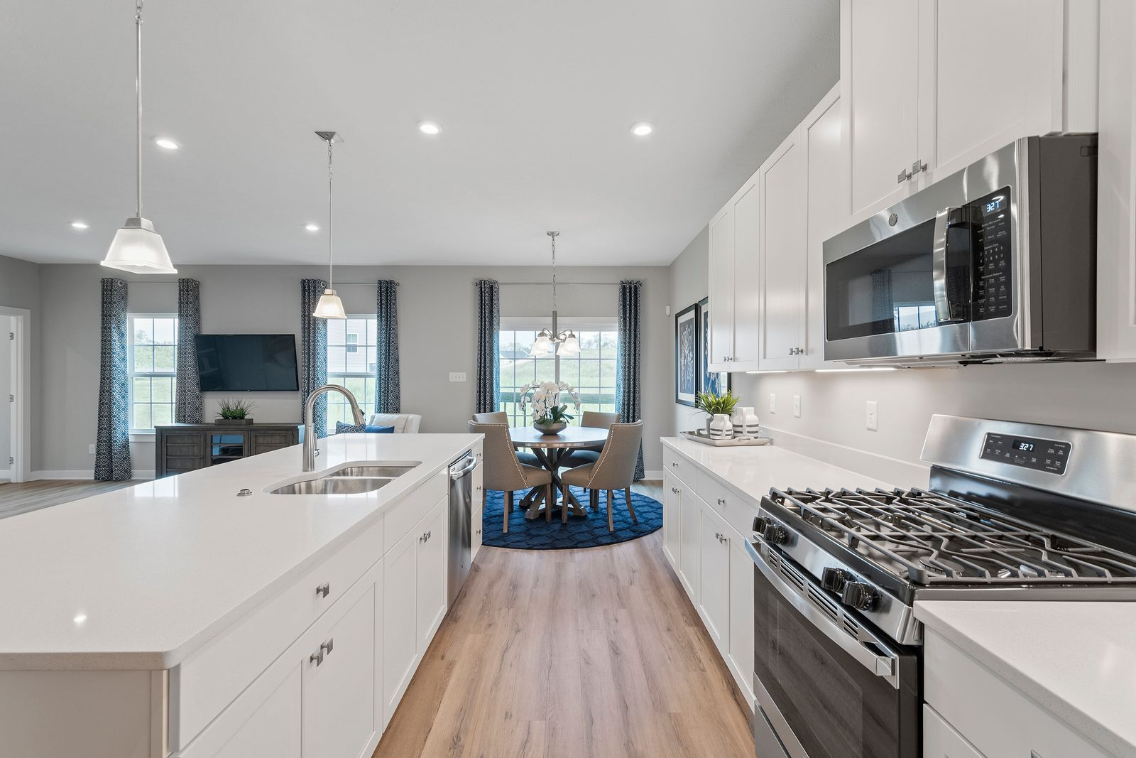 Kitchen featured in the Andover By Ryan Homes in Pittsburgh, PA