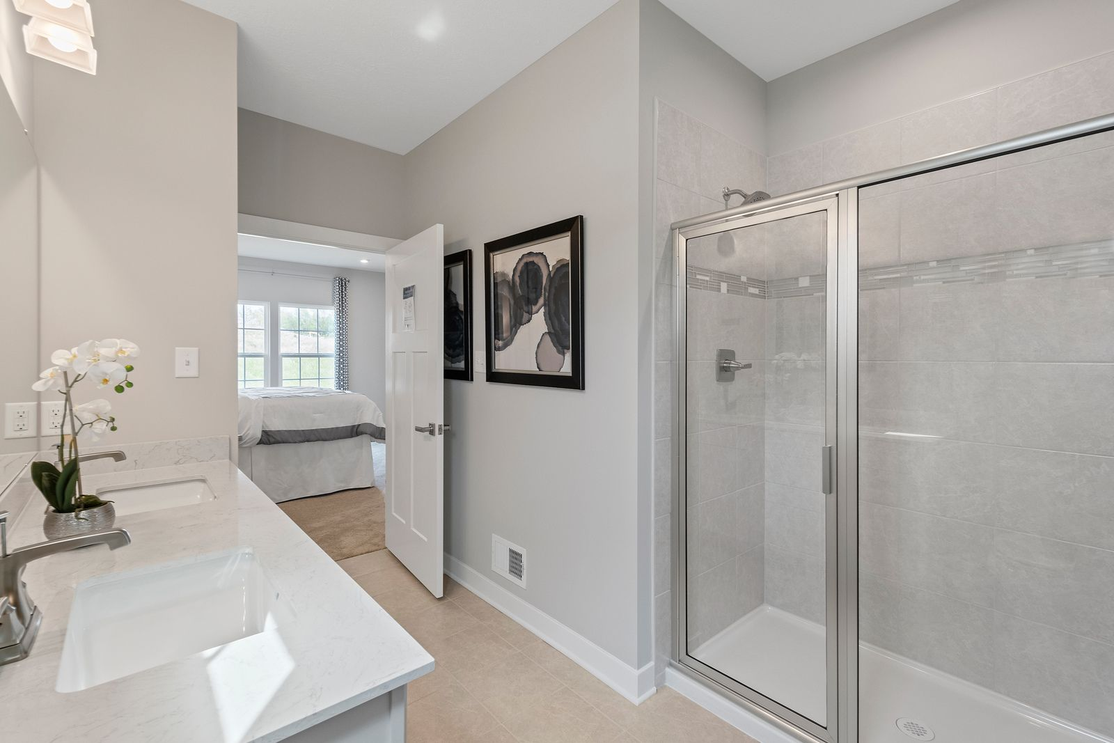 Bathroom featured in the Andover By Ryan Homes in Pittsburgh, PA