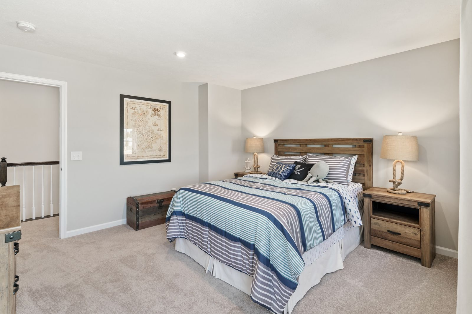 Bedroom featured in the Rosecliff By Ryan Homes in Sussex County, NJ