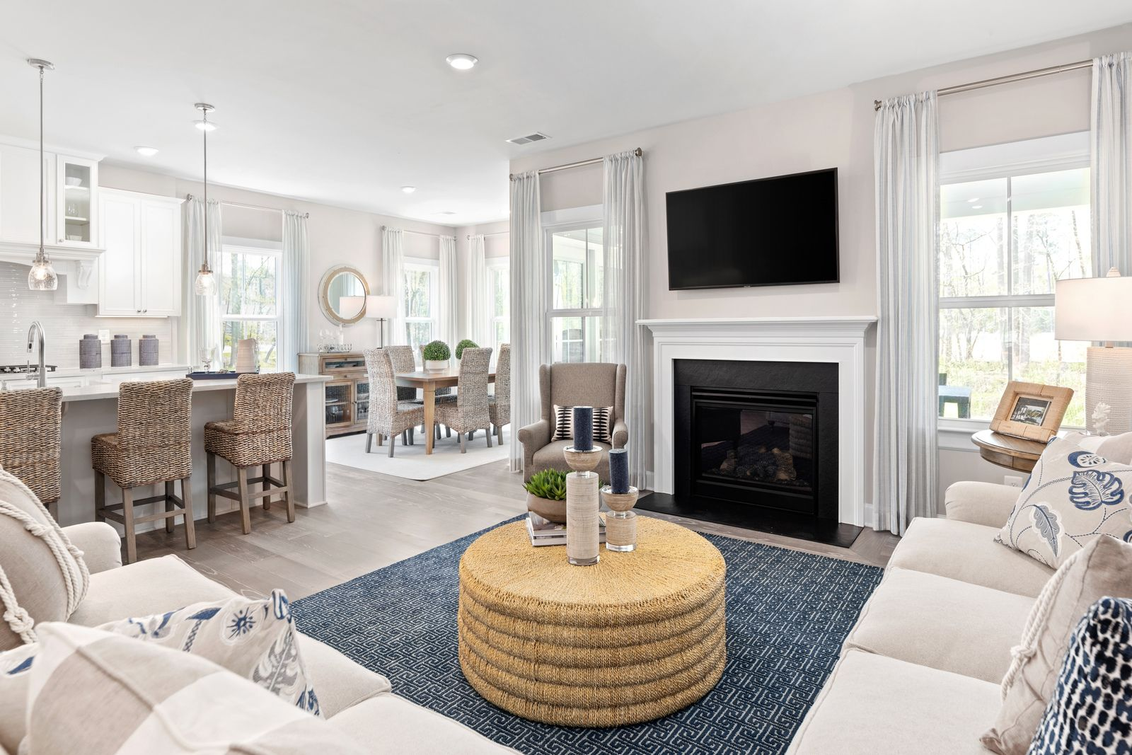 Living Area featured in the Stapleton By NVHomes in Sussex, DE