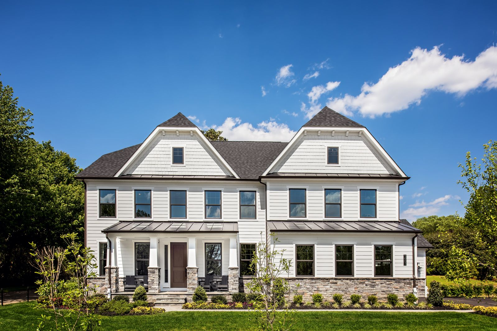Exterior featured in the Stratford Hall By NVHomes in Philadelphia, PA
