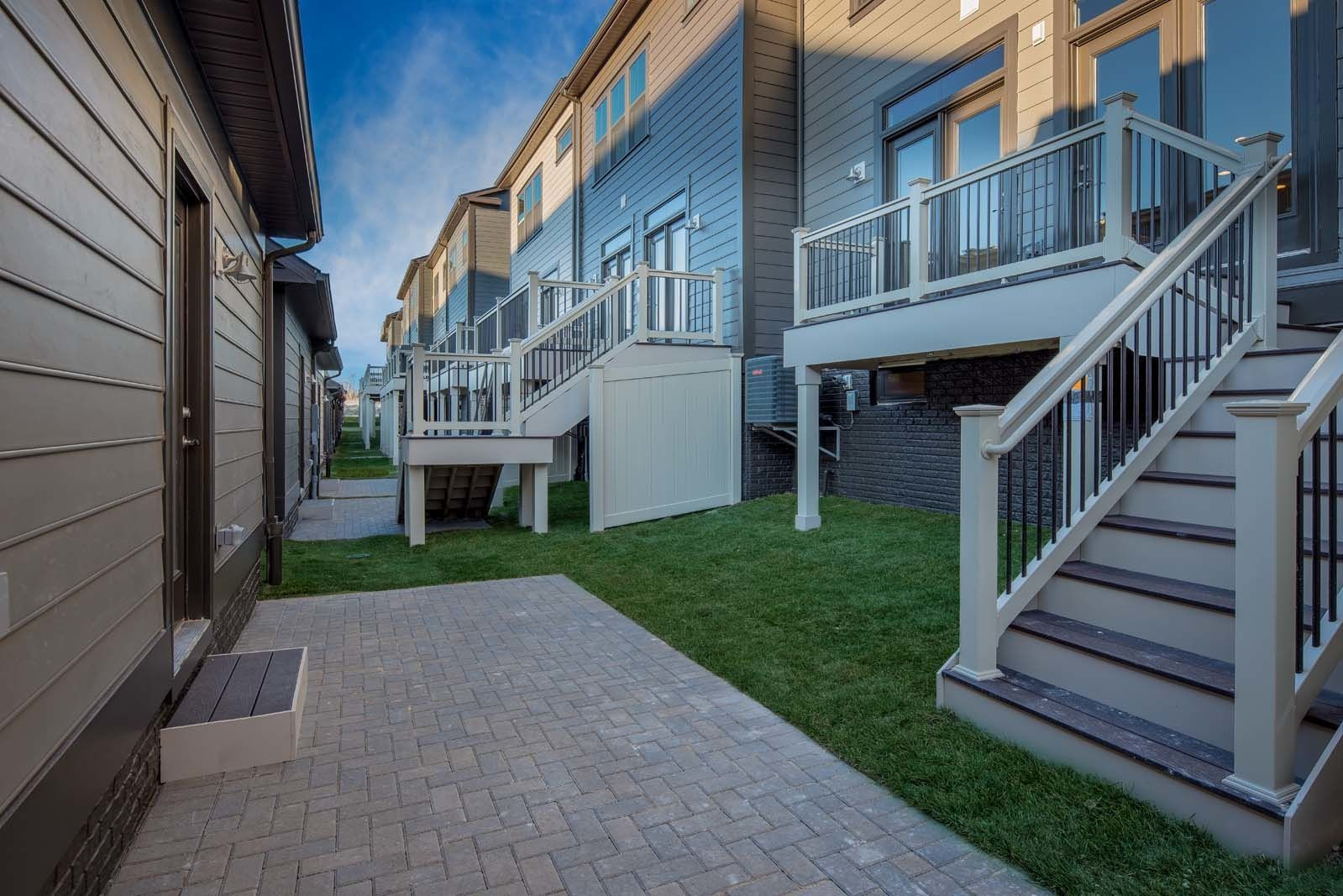 Exterior featured in the Andrew Carnegie Courtyard By NVHomes in Baltimore, MD