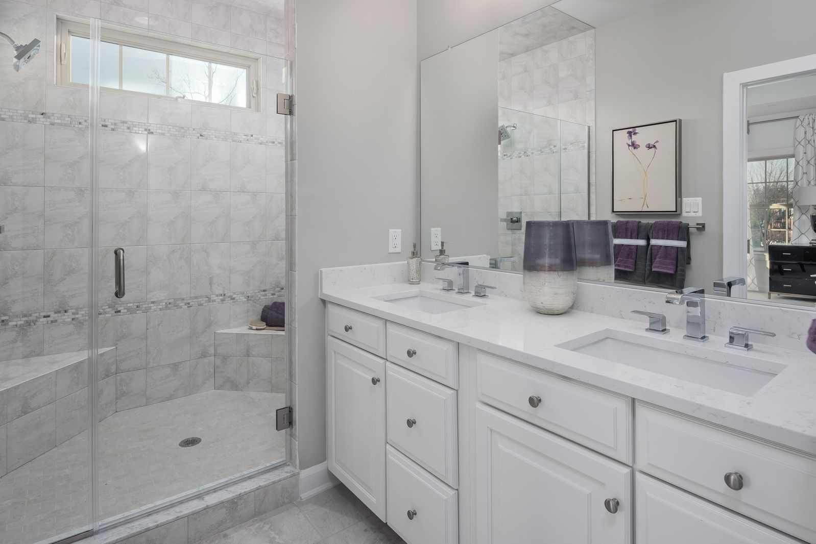 Bathroom featured in the Andrew Carnegie By NVHomes in Baltimore, MD