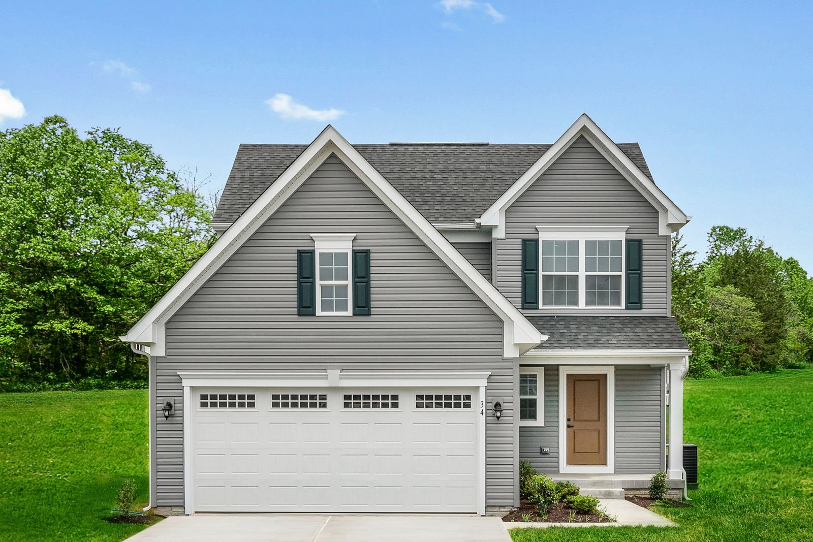 Exterior featured in the Adrian By Ryan Homes in Ocean City, MD