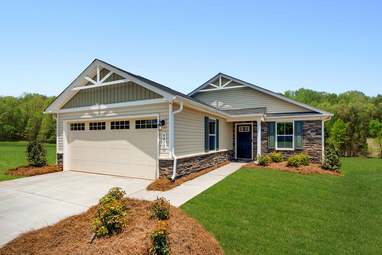Exterior featured in the Aruba Bay By Ryan Homes in Cleveland, OH