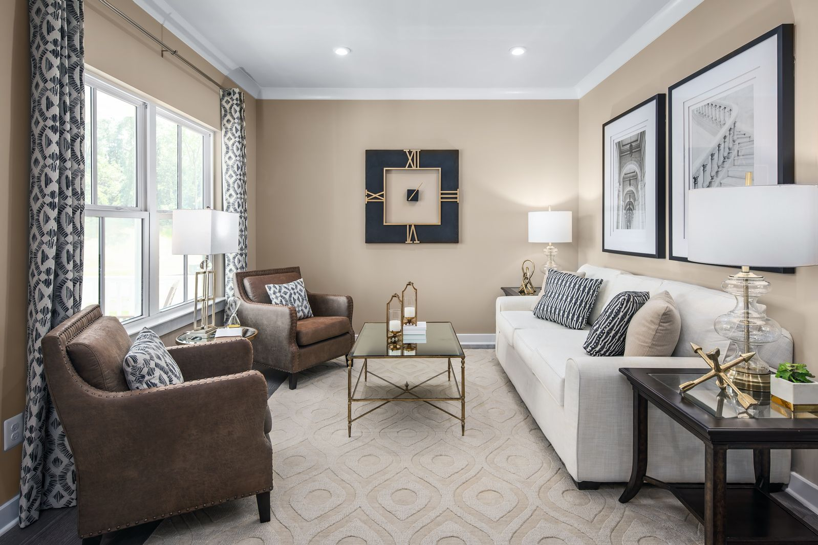Living Area featured in the Hudson By Ryan Homes in Philadelphia, NJ