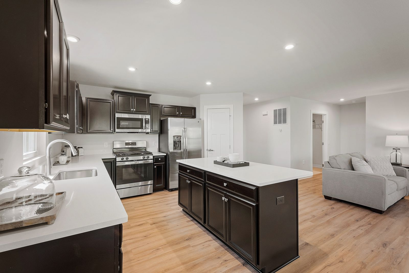 Kitchen featured in the Dominica Spring By Ryan Homes in Cumberland County, NJ