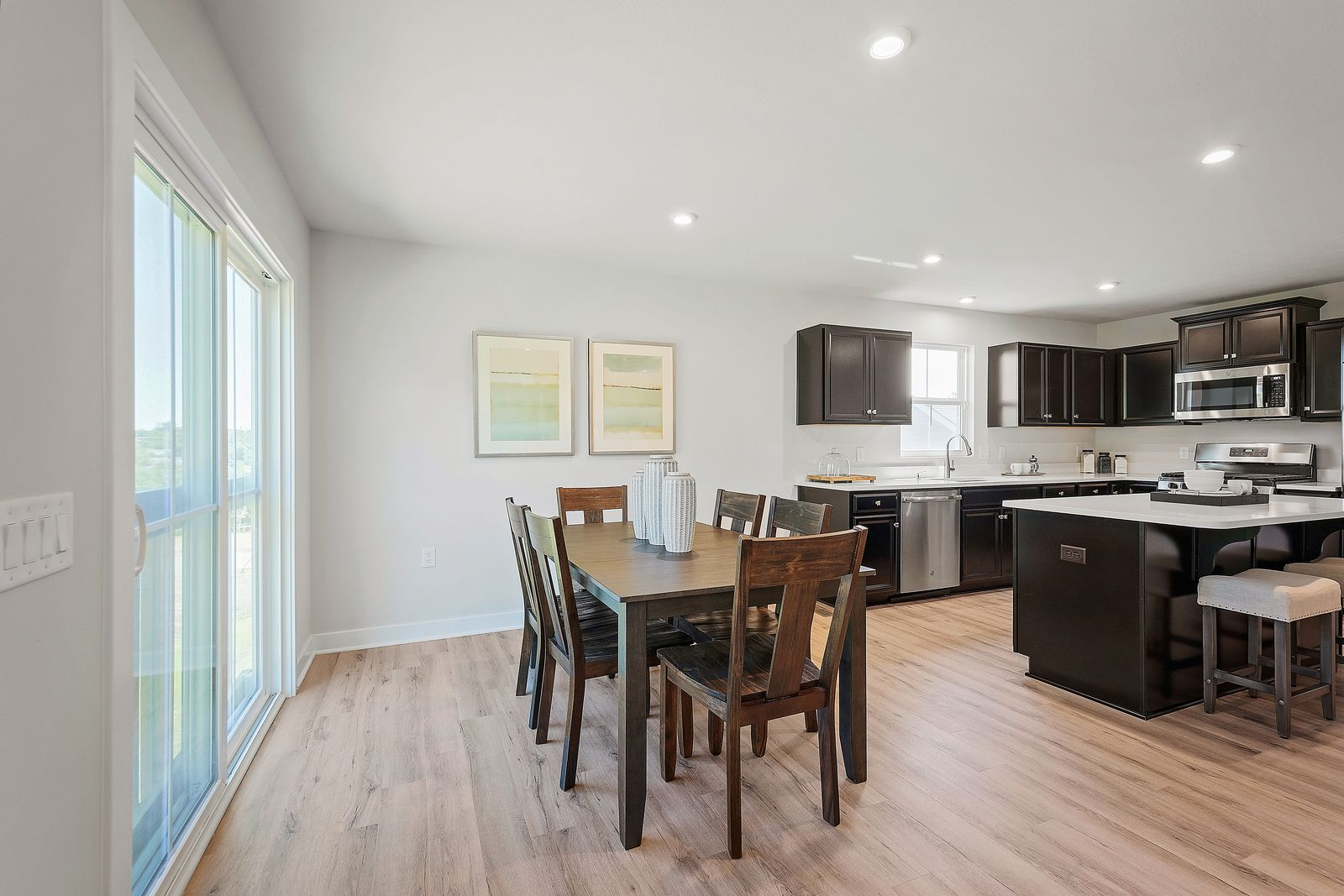 Kitchen featured in the Dominica Spring By Ryan Homes in Sussex, DE