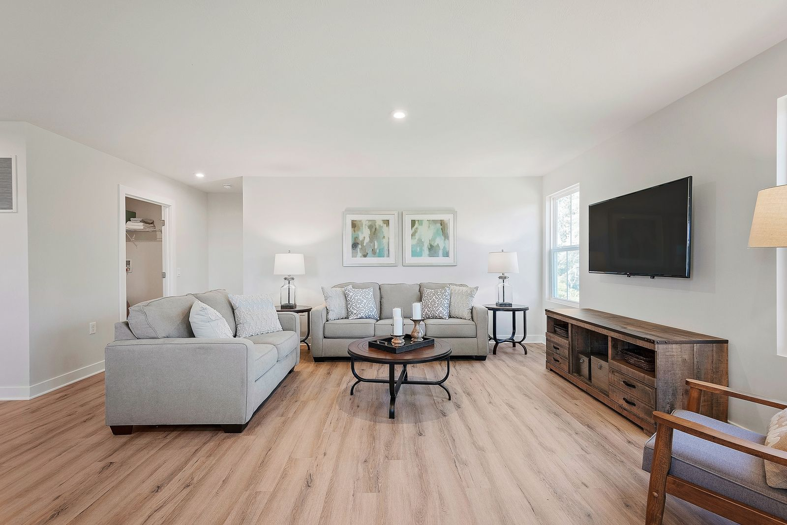 Living Area featured in the Dominica Spring By Ryan Homes in Cumberland County, NJ