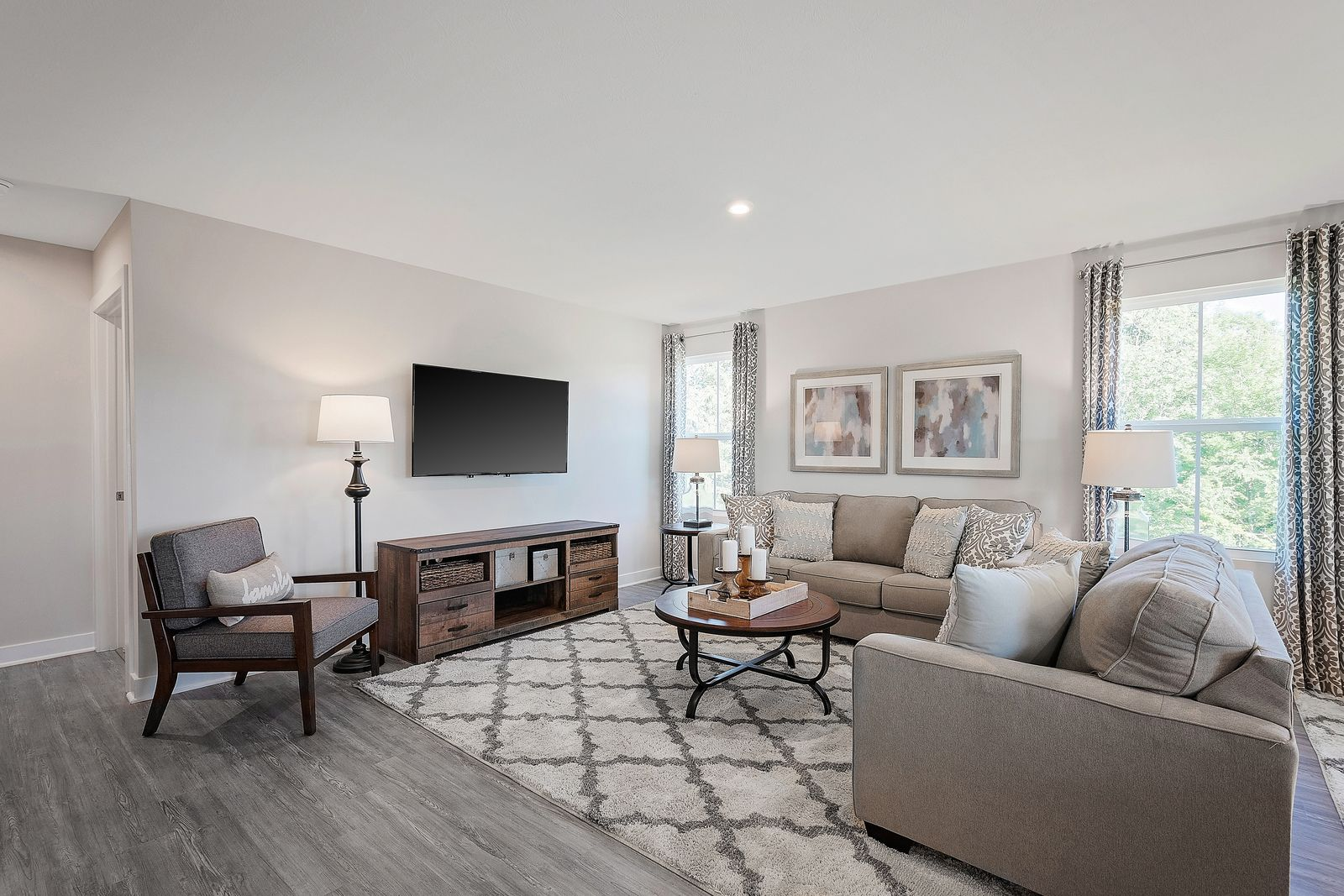 Living Area featured in the Grand Bahama By Ryan Homes in Indianapolis, IN