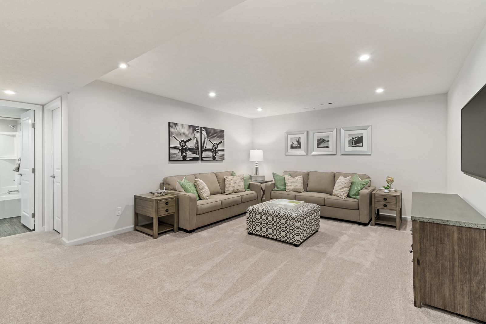 Living Area featured in the Rosemont By NVHomes in Philadelphia, PA