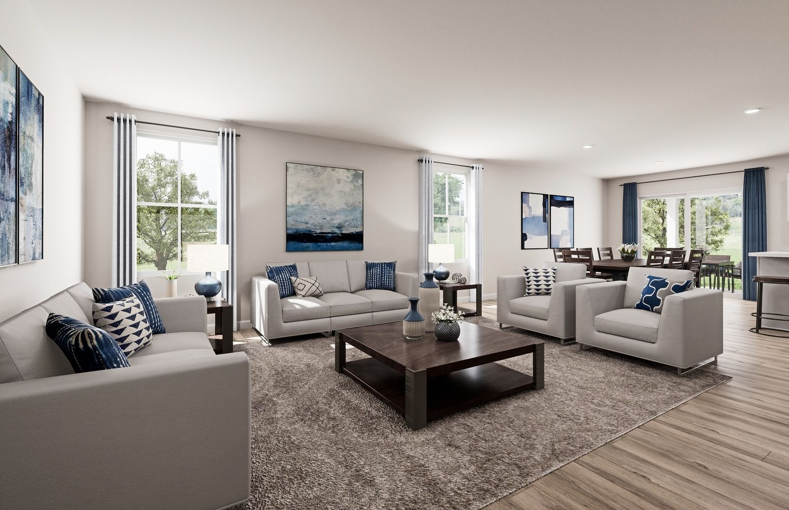 Living Area featured in the Eden Cay By Ryan Homes in Sussex County, NJ