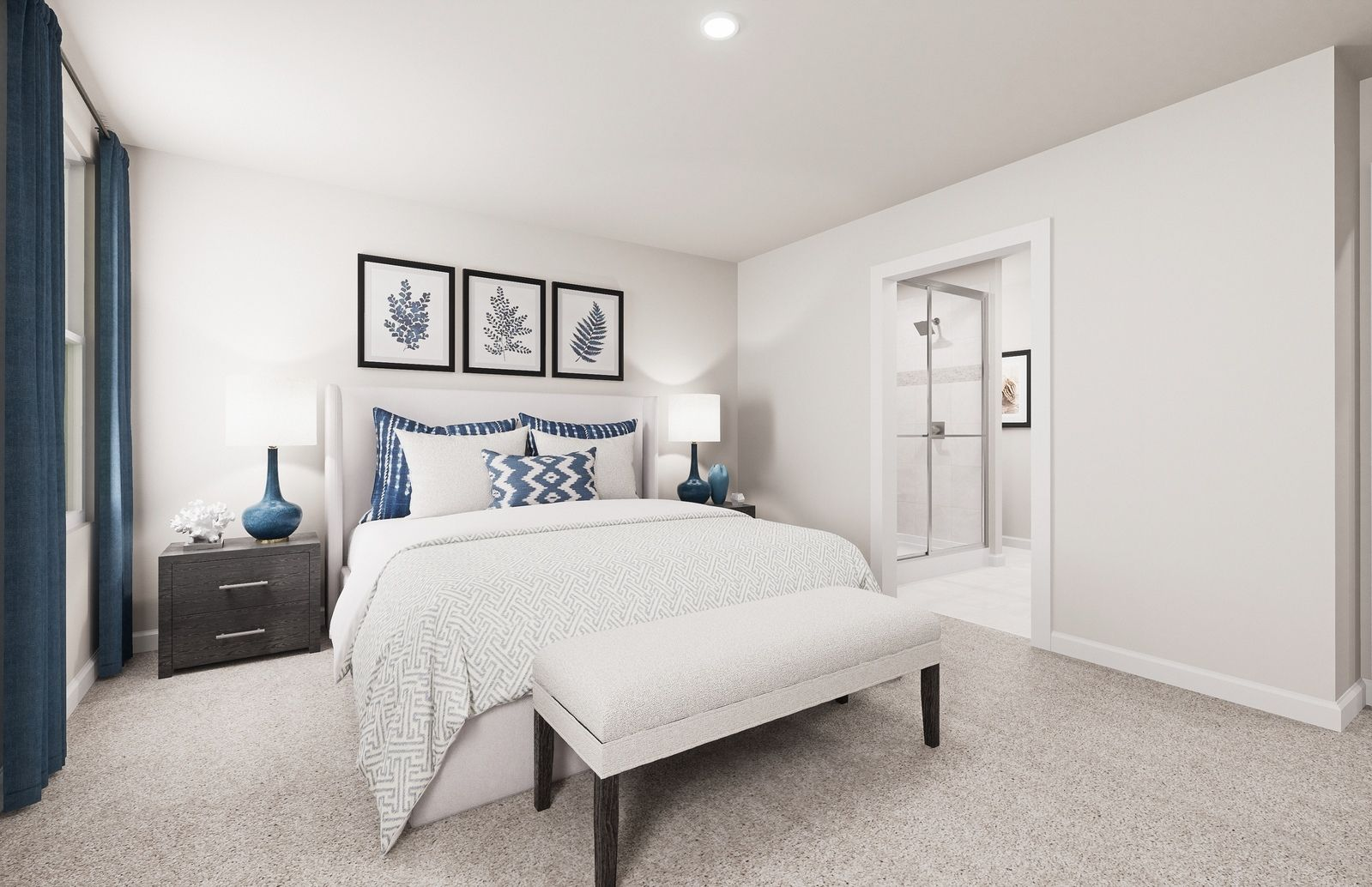 Bedroom featured in the Eden Cay By Ryan Homes in Cleveland, OH