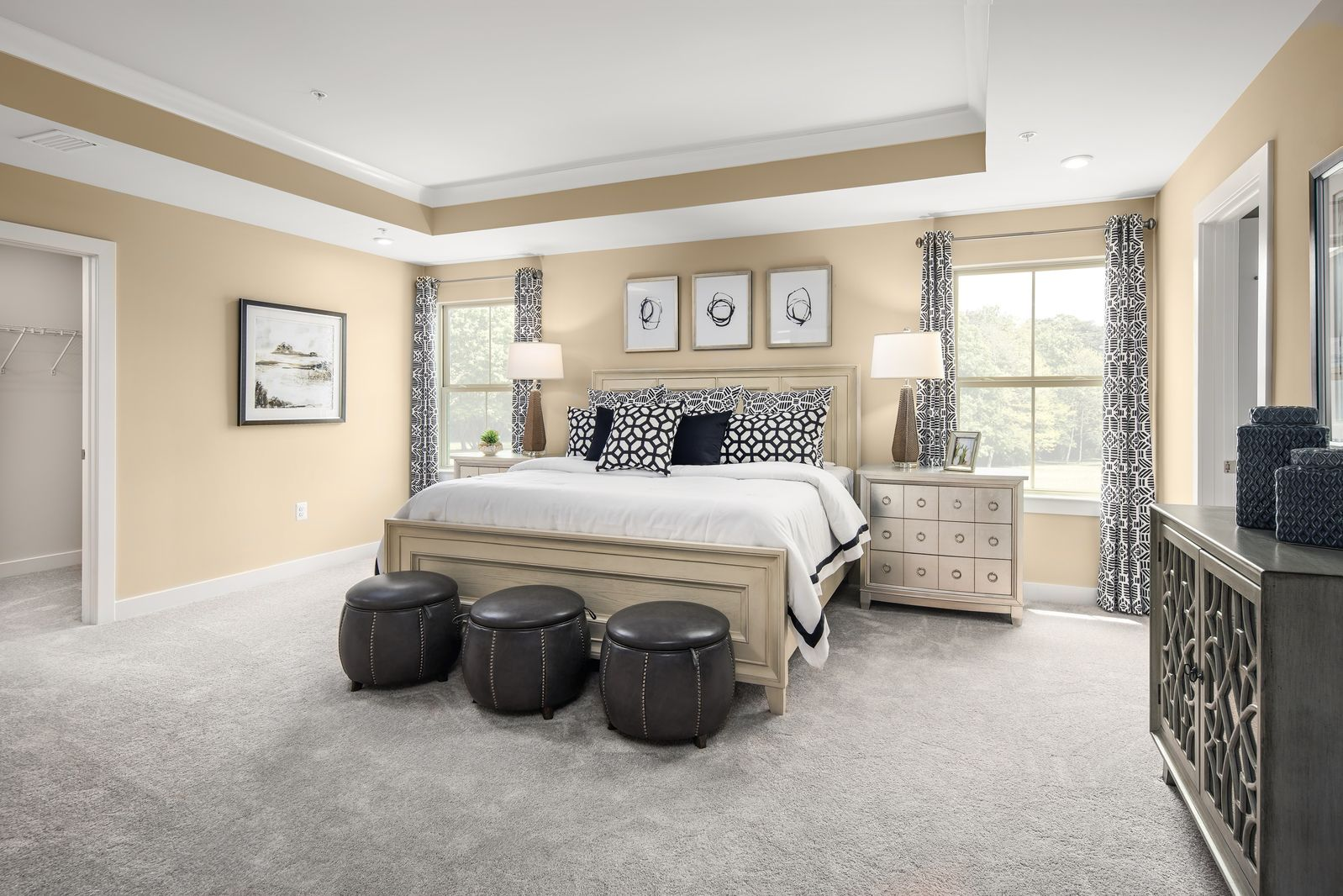 Bedroom featured in the Roanoke By Ryan Homes in Ocean City, MD