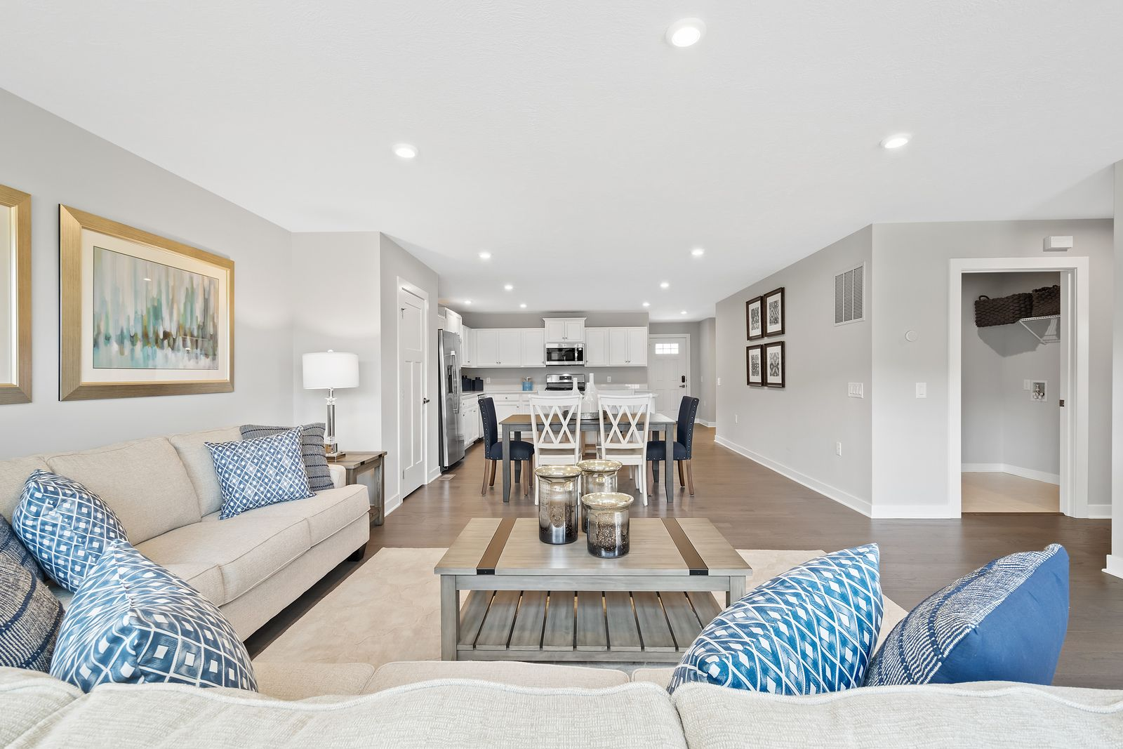 Living Area featured in the Caicos By Ryan Homes in Columbus, OH