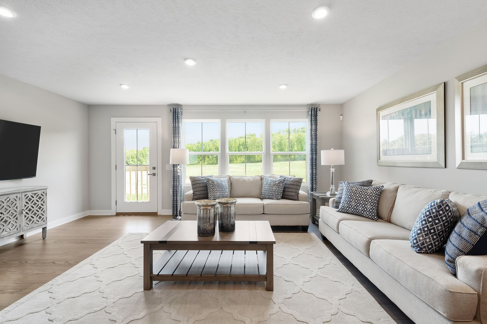 Living Area featured in the Turks & Caicos. By Ryan Homes in Harrisonburg, VA