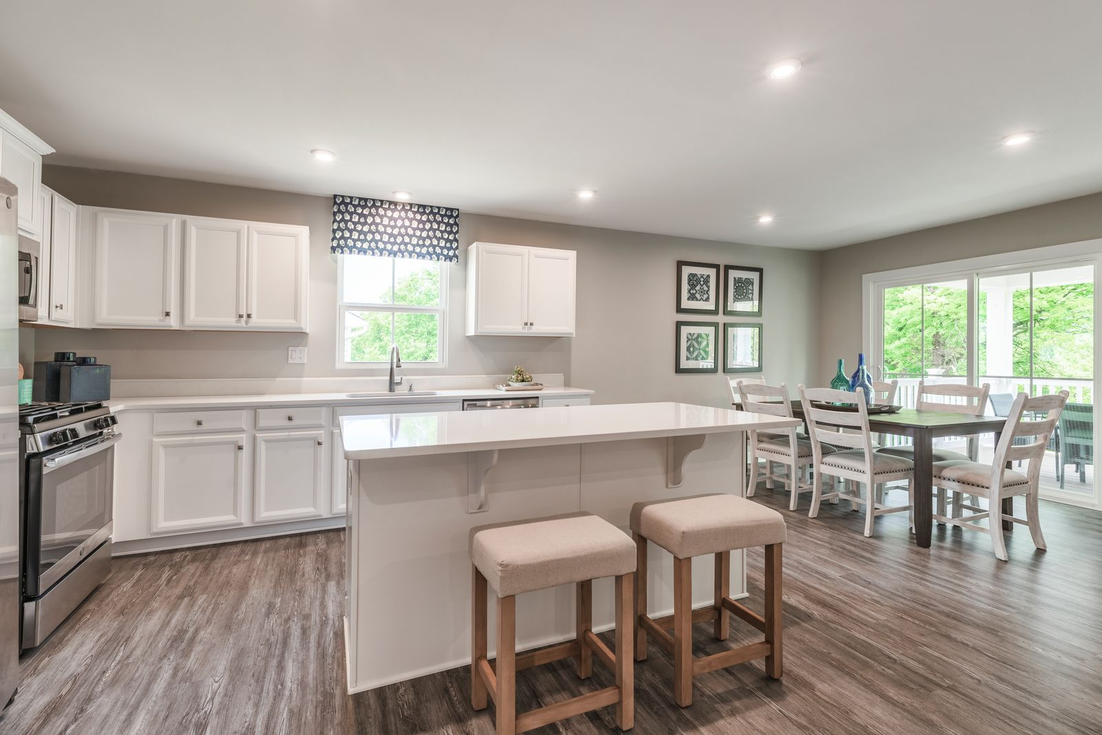 Kitchen featured in the Dominica Spring By Ryan Homes in Greenville-Spartanburg, SC