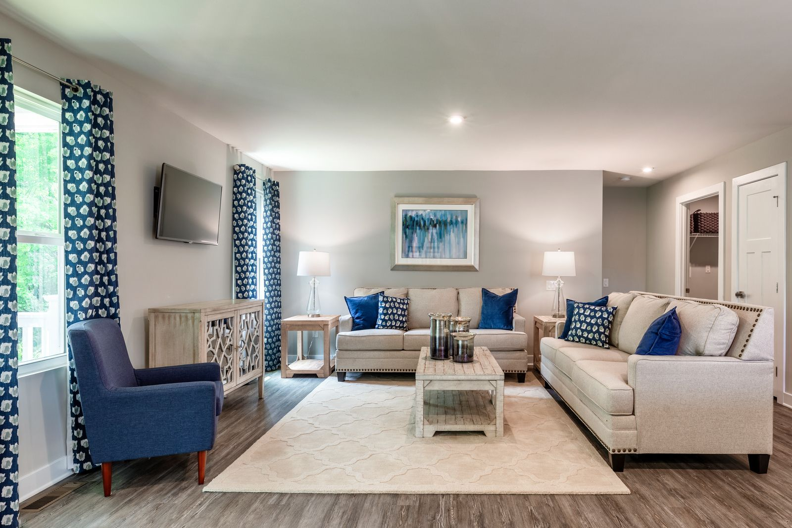 Living Area featured in the Dominica Spring By Ryan Homes in Philadelphia, NJ