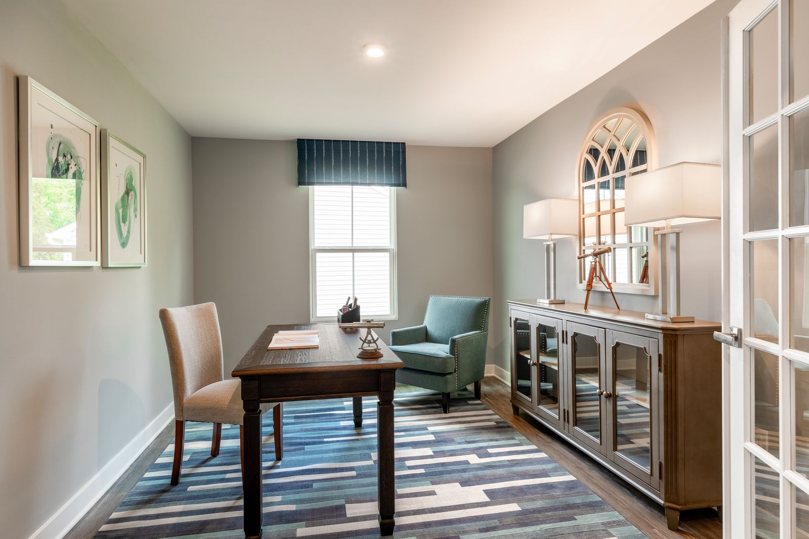 Living Area featured in the Dominica Spring By Ryan Homes in Sussex County, NJ
