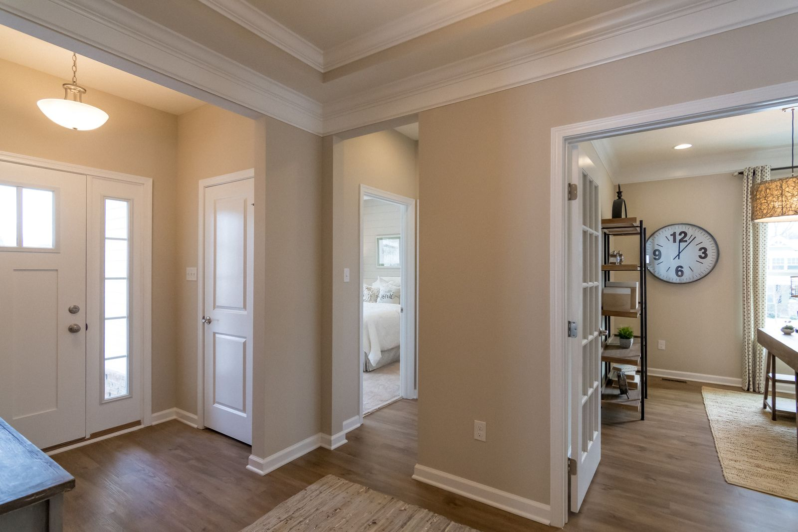 Living Area featured in the Andover Ranch w/ Finished Lower Level By Ryan Homes in Cincinnati, OH