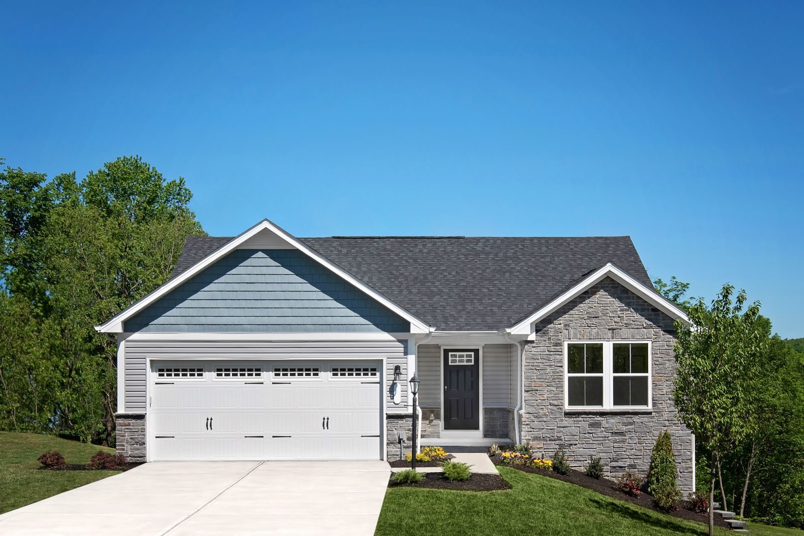 Exterior featured in the Grand Bahama By Ryan Homes in Cleveland, OH