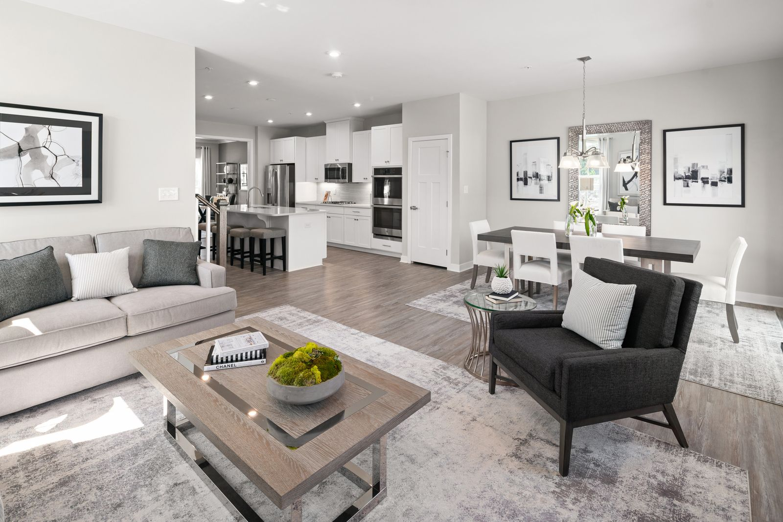 Living Area featured in the Waldorf By Ryan Homes in Philadelphia, PA