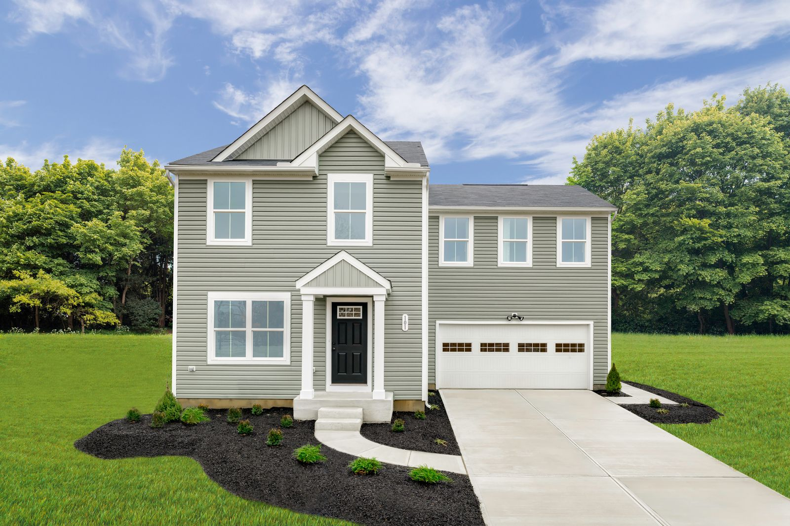 Exterior featured in the Birch By Ryan Homes in Cincinnati, OH
