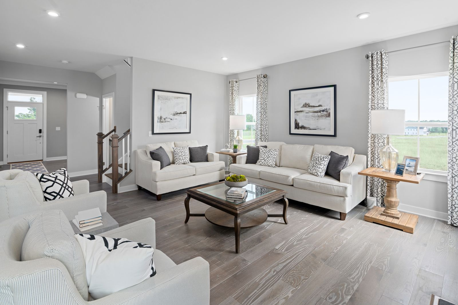 Living Area featured in the Columbia By Ryan Homes in Norfolk-Newport News, VA