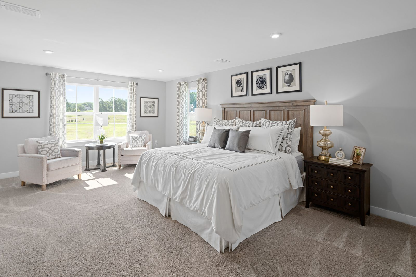 Bedroom featured in the Columbia By Ryan Homes in Philadelphia, NJ