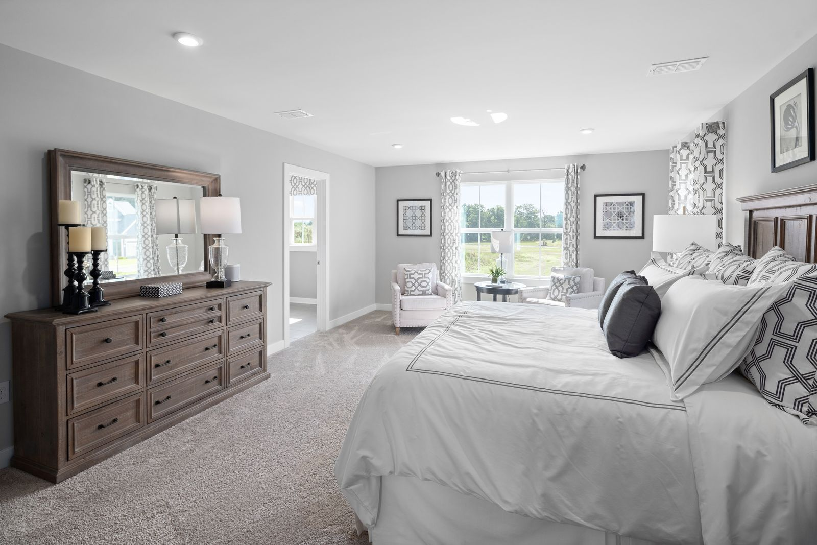 Bedroom featured in the Columbia By Ryan Homes in Indianapolis, IN