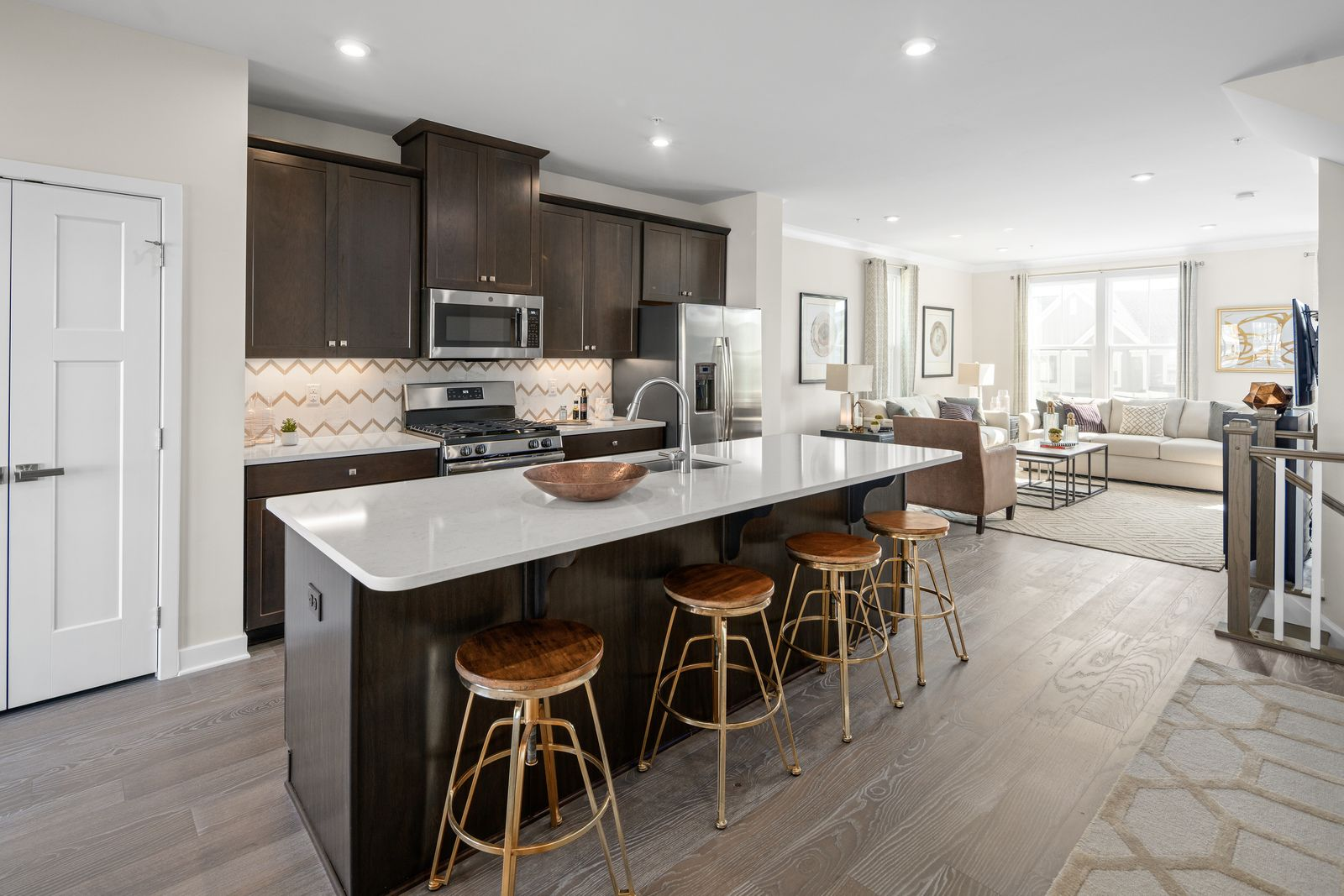 Kitchen featured in the Strauss By Ryan Homes in Charlotte, NC