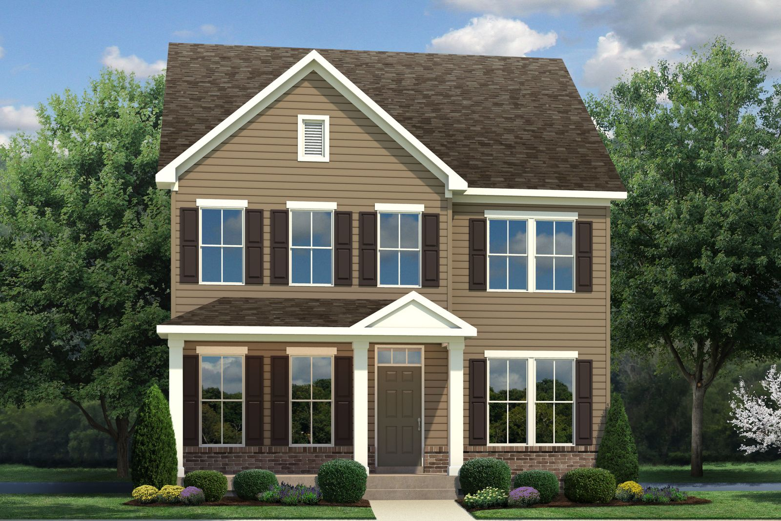 Exterior featured in the Mitchell By Ryan Homes in Baltimore, MD
