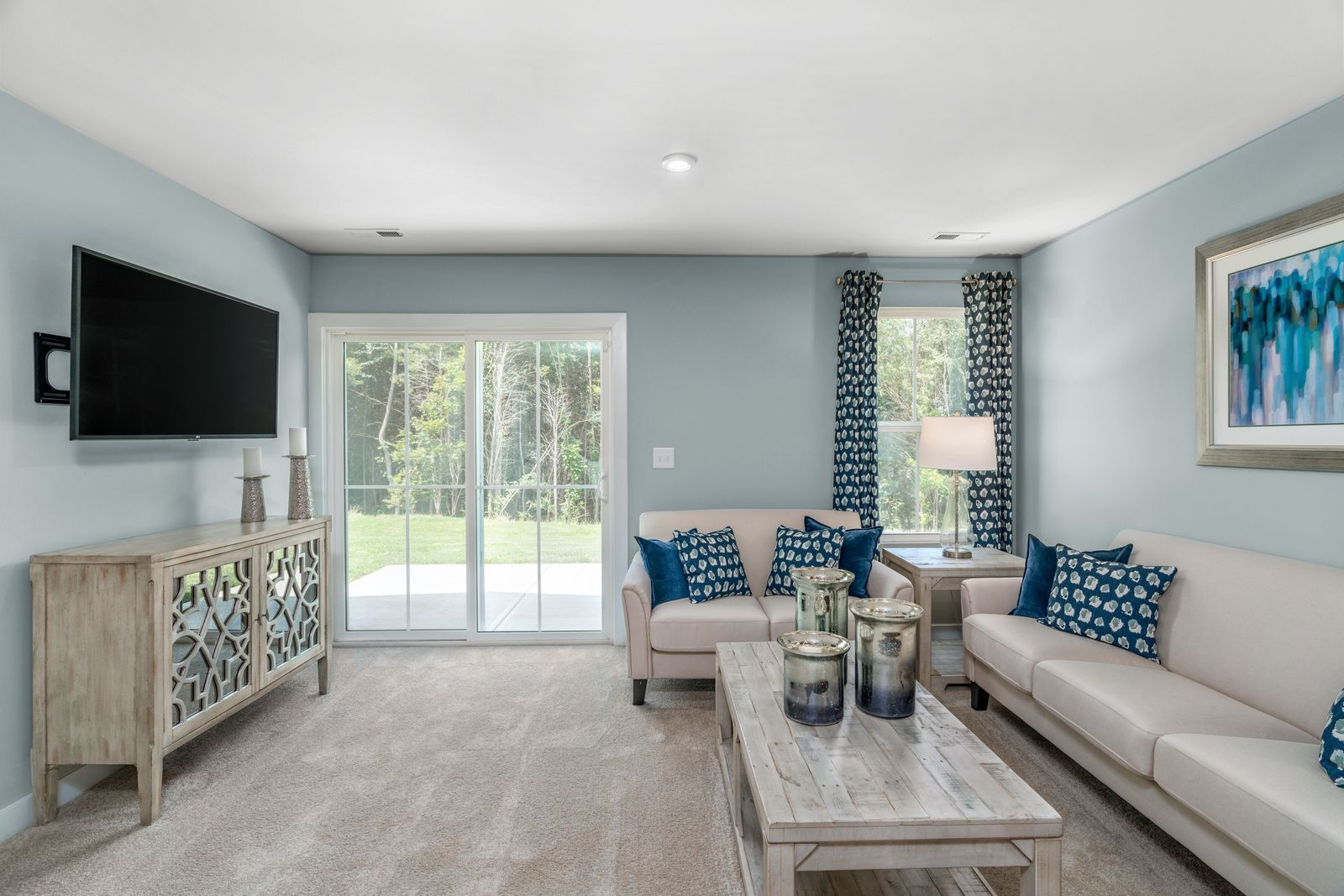 Living Area featured in the Aruba Bay By Ryan Homes in Sussex County, NJ