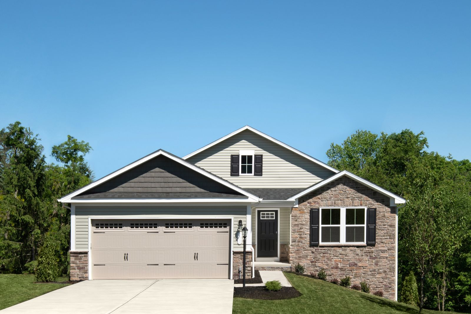Exterior featured in the Dominica Spring By Ryan Homes in Akron, OH