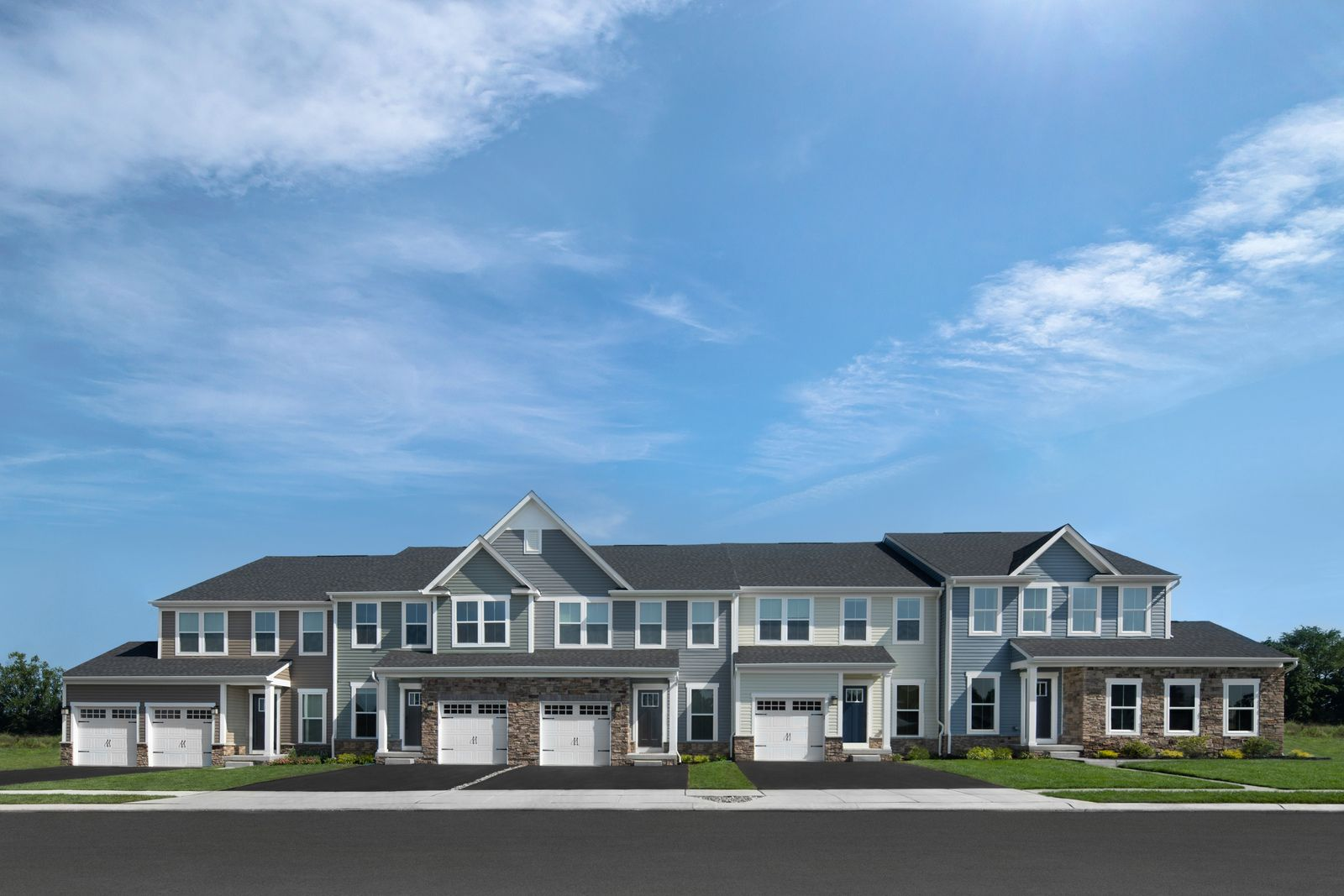 Exterior featured in the Waldorf By Ryan Homes in Philadelphia, PA