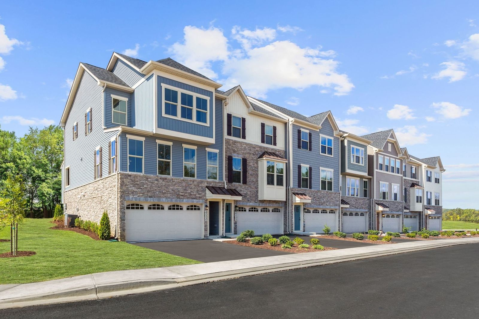 'Pine View Townhomes' by Ryan Homes-DEL in Wilmington-Newark