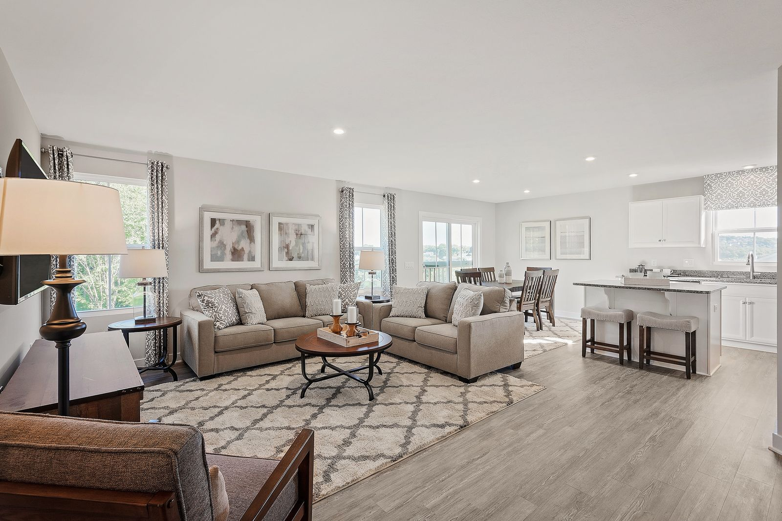 Living Area featured in the Barbados Isle By Ryan Homes in Washington, VA