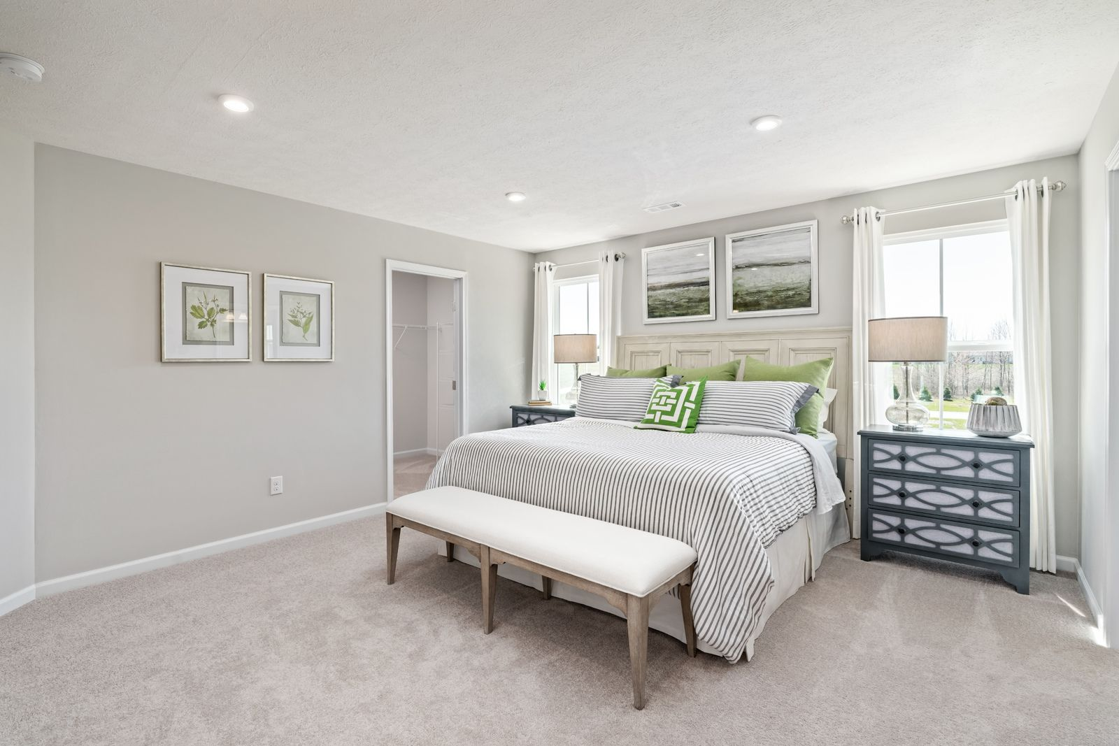 Bedroom featured in the Ferncliff By Ryan Homes in Rochester, NY