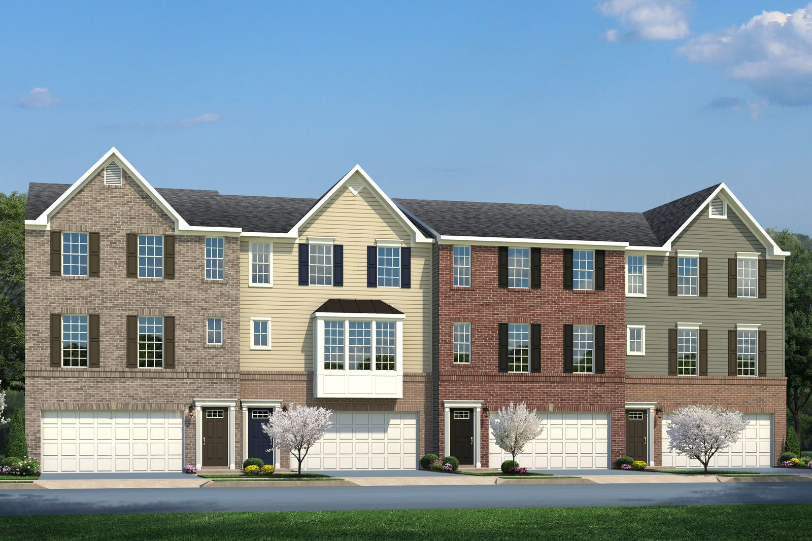 Exterior featured in the Wexford Rear Garage By Ryan Homes in Akron, OH
