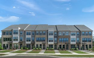 South Tryon Townhomes by Ryan Homes in Charlotte North Carolina