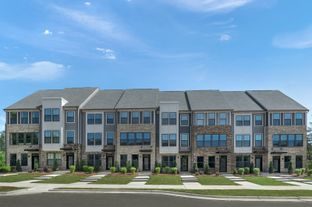 4-Story Clarendon - Wendover Green: Charlotte, North Carolina - Ryan Homes