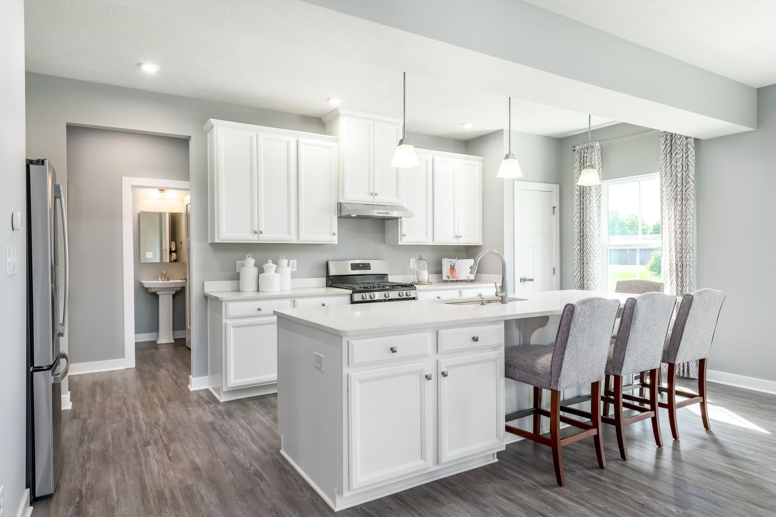 Kitchen featured in the Hudson By Ryan Homes in Indianapolis, IN