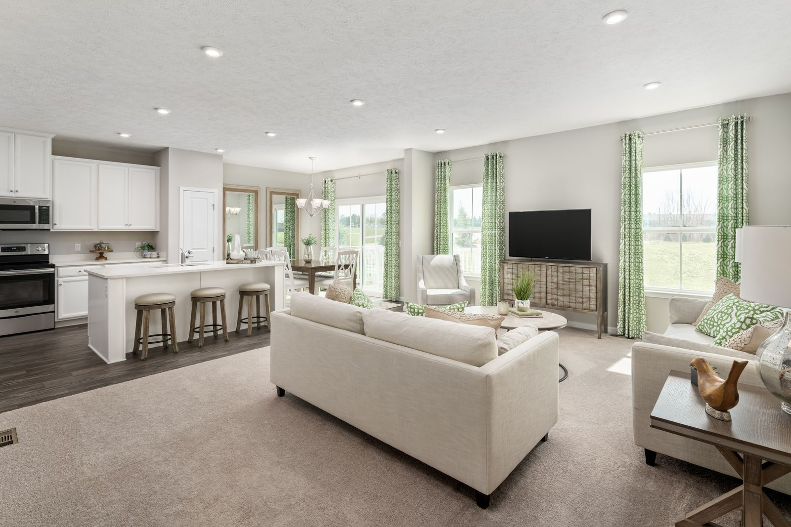 Living Area featured in the Ferncliff By Ryan Homes in Raleigh-Durham-Chapel Hill, NC