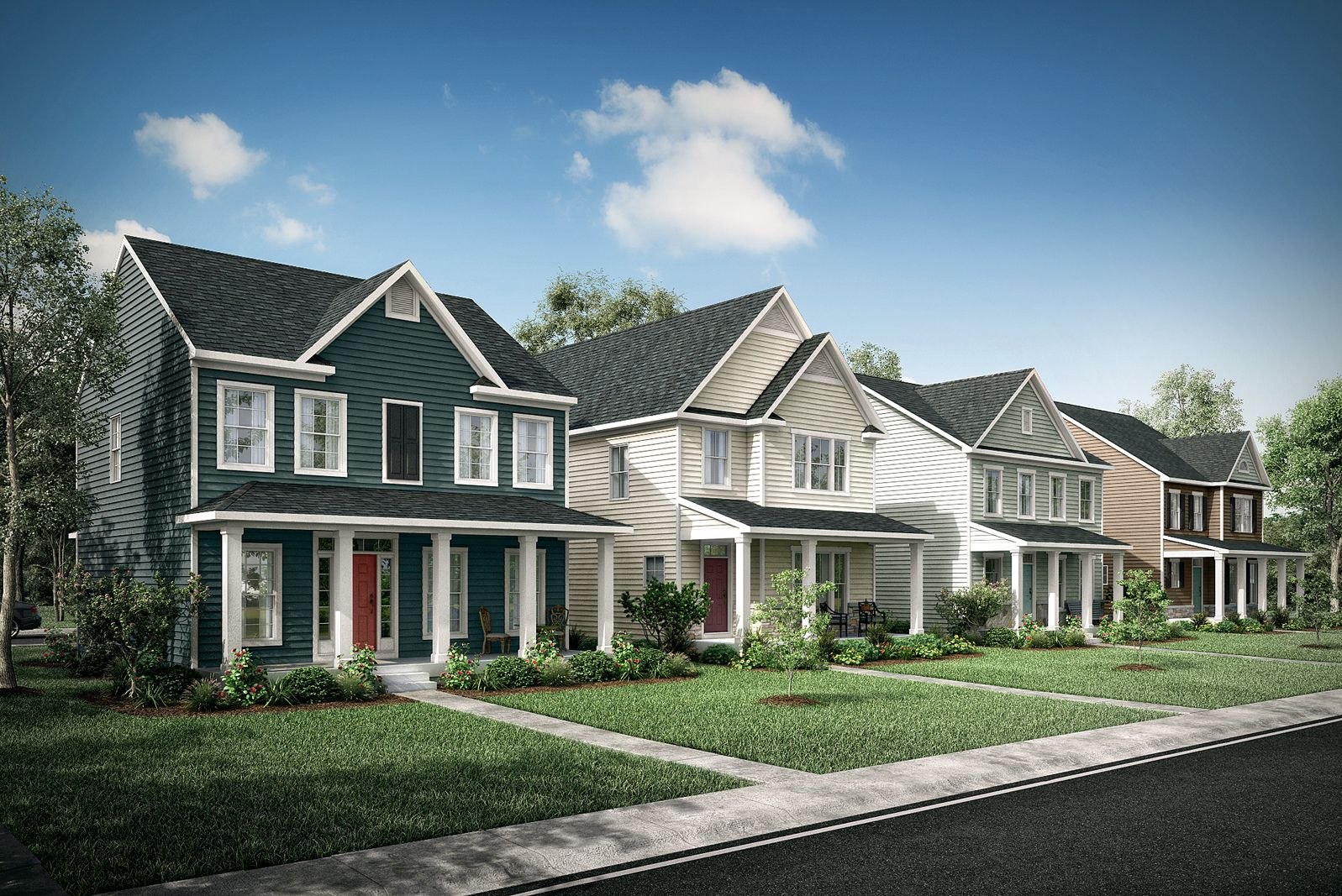 'Westlake Heights' by Ryan Homes-RHW in Richmond-Petersburg
