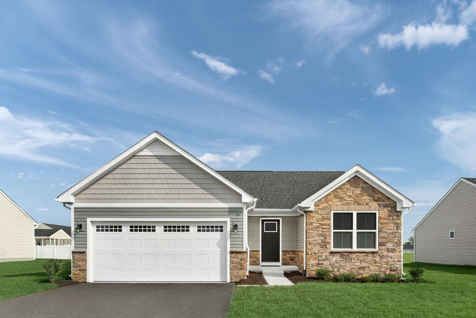 Exterior featured in the Grand Bahama By Ryan Homes in Sussex County, NJ