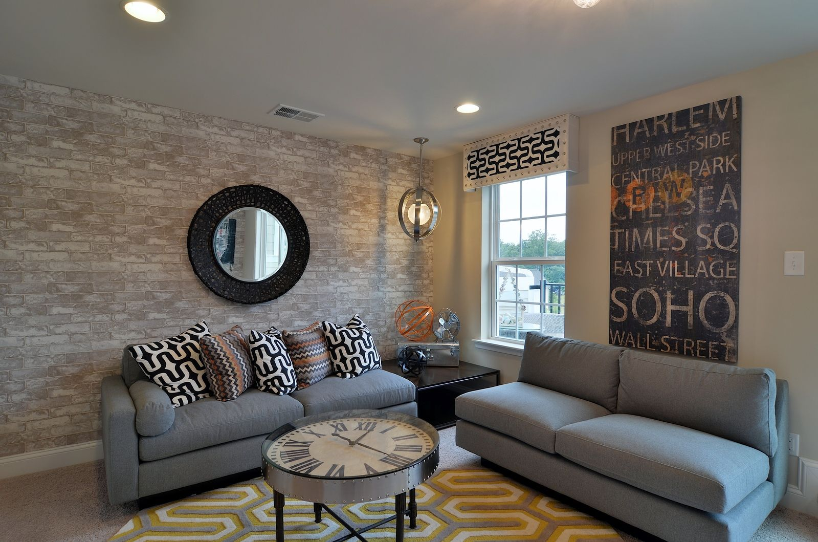 Living Area featured in the Mozart Attic E By Ryan Homes in Pittsburgh, PA