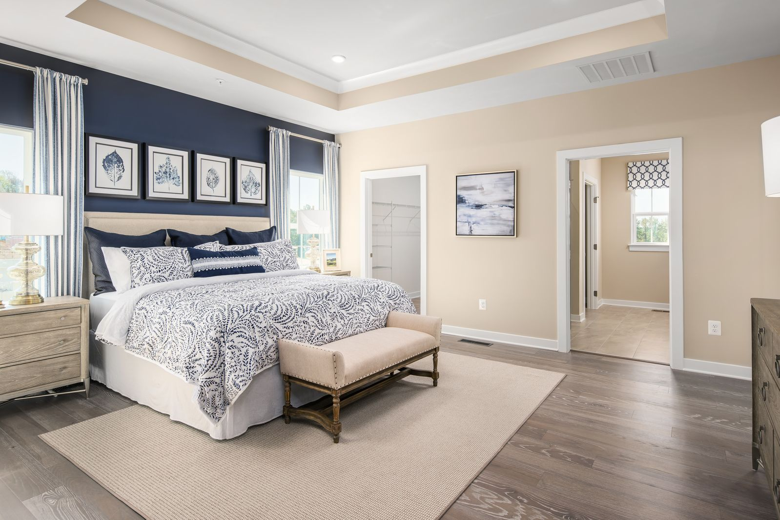 Bedroom featured in the Cumberland with Full Basement By Ryan Homes in Indianapolis, IN